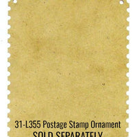 Christmas Postage Stamp Ornaments E-Pattern