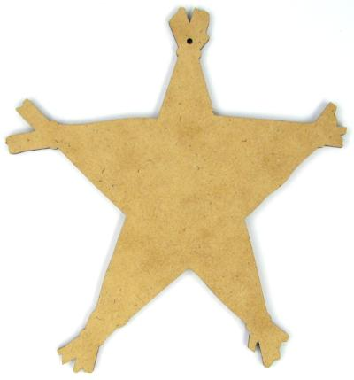 Woodland Star Ornament