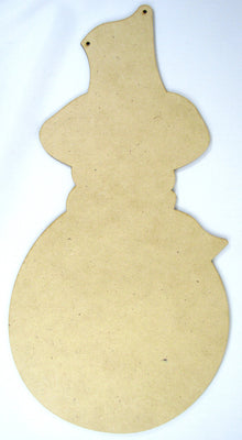 Snowman with Top Hat Plaque