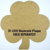 St. Patrick's Day Stencil