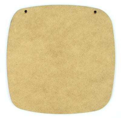Rounded Square Plaque