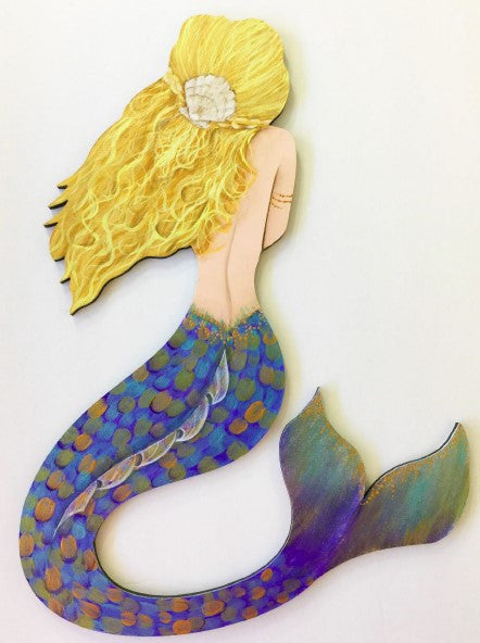 Serena MDF Mermaid Ornament