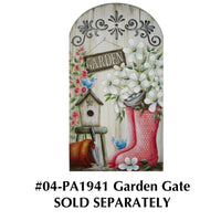 Garden Gate Plaque