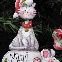 Cat and Mouse Ornament