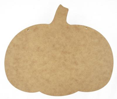 Squatty Pumpkin Plaque