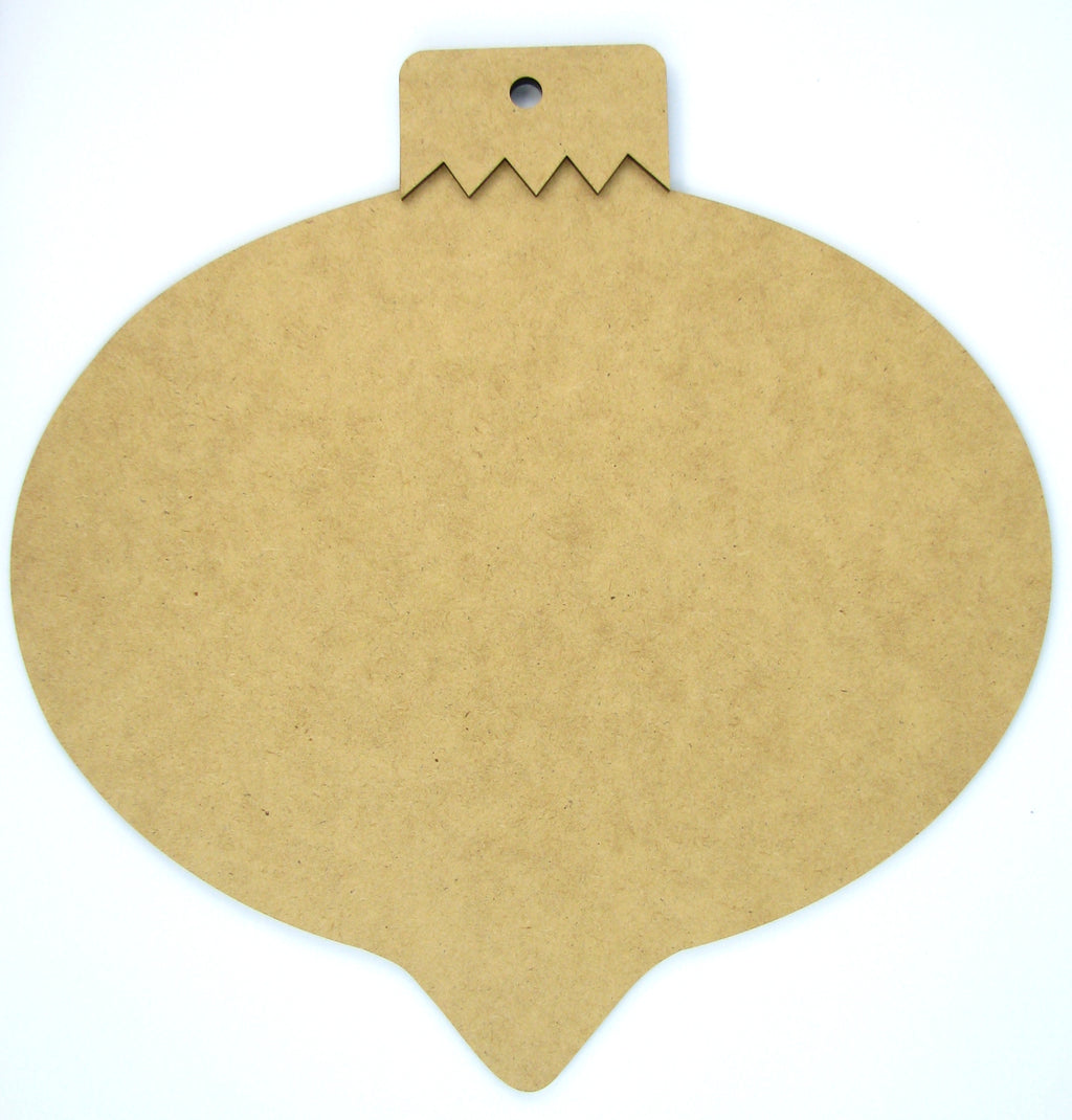 Jumbo Fat Teardrop Ornament Plaque
