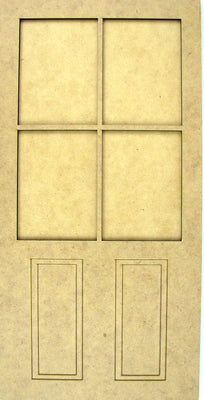 Door with Panel Kit