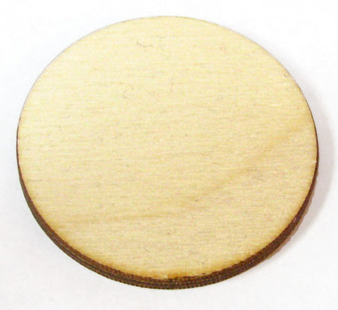 1 in. Wood Circles
