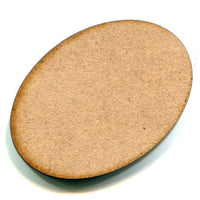 1-3/4 in. MDF Oval