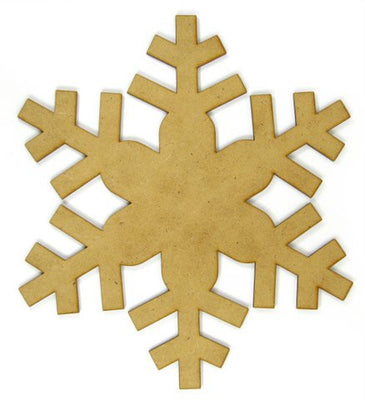 10 in. Blizzard Snowflake