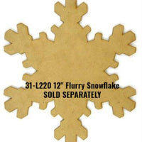 Winter Wonderland Snowflake E-Pattern