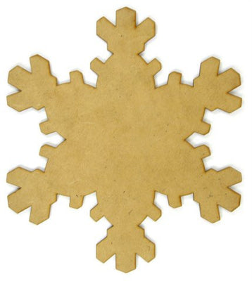 10 in. Flurry Snowflake