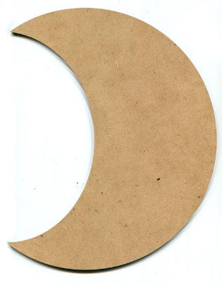 "10"" Crescent Moon Plaque"