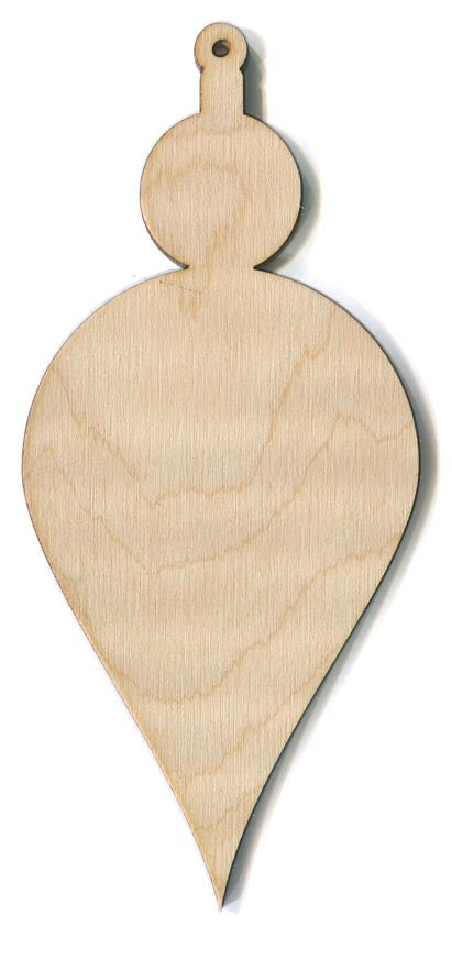 Tall Teardrop Ornament