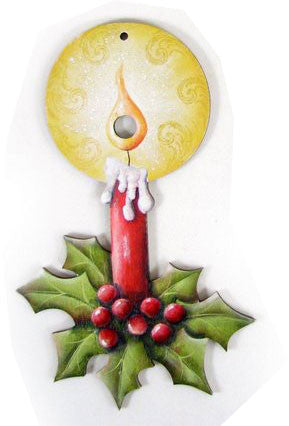 Luminous Lights Candle Ornament