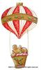 Gingerbread Hot Air Balloon Ornament