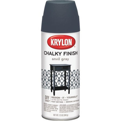 Krylon Chalky Finish Anvil Gray