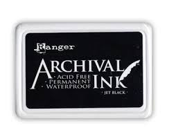 Archival Ink Pads Jet Black