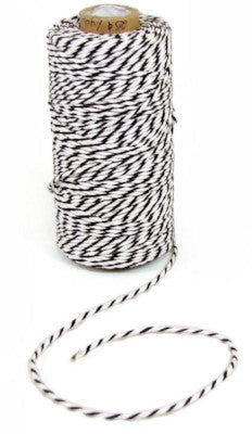 Black & White Baker's Twine