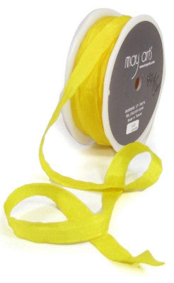"1/2"" wide Sunshine Yellow Ribbon"