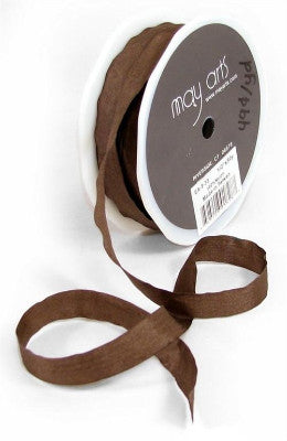 "1/2"" wide Brown Ribbon"