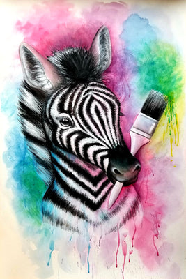Zebra Splash E-Pattern By Jillybean Fitzhenry