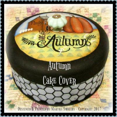 Autumn Cake Cover
