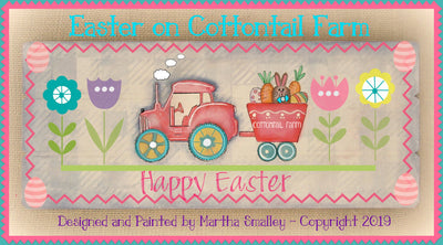 Easter on Cottontail Farm E-Pattern