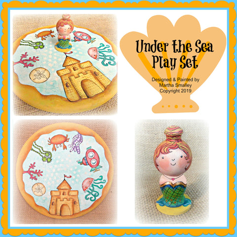 Under the Sea E-Pattern
