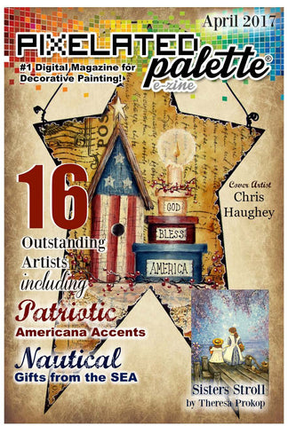 Pixelated Palette - April 2017 Issue Download