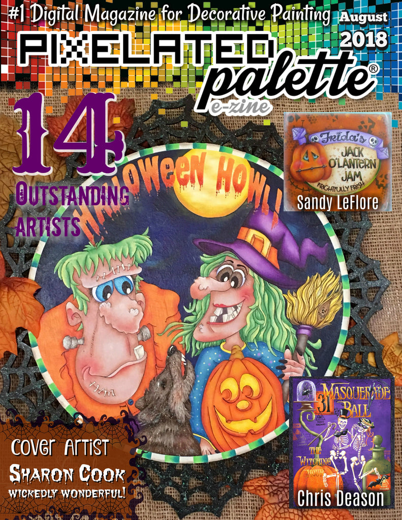 Pixelated Palette - August 2018 Issue Download