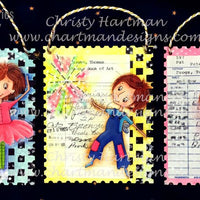 Postage Stamp Ornament