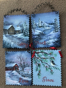 Christmas Messages E-Pattern By Annette Dozier