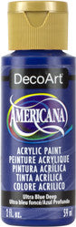 Ultra Blue Deep Acrylic Paint