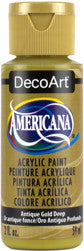 Antique Gold Deep Acrylic Paint