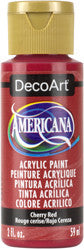 Cherry Red Acrylic Paint