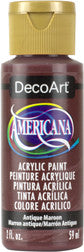 Antique Maroon Acrylic Paint