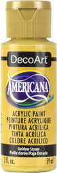 Golden Straw Acrylic Paint