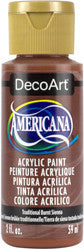 Traditional Burnt Sienna Acrylic Paint