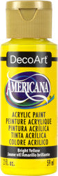 Bright Yellow Acrylic Paint