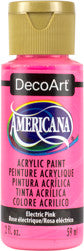 Electric Pink Acrylic Paint
