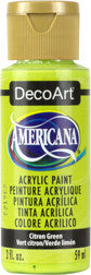 Citron Green Acrylic Paint