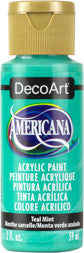 Teal Mint Acrylic Paint