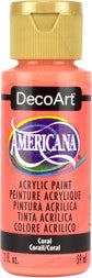 Coral Americana Acrylic Paint by DecoArt