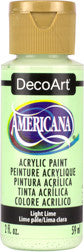 Light Lime Americana Acrylic Paint by DecoArt