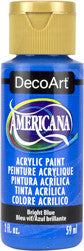 Bright Blue Americana Acrylic Paint by DecoArt