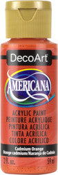 Cadmium Orange Acrylic Paint