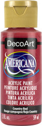 Country Red Acrylic Paint