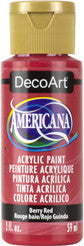 Berry Red Acrylic Paint