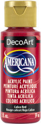 Calico Red Acrylic Paint